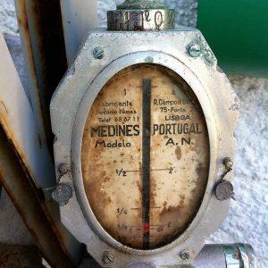 Bomba de azeite utilizado nas lojas dos anos vinte