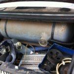 LOVATO Kit de gás ainda montado em mercedes W 201 ou seja E190