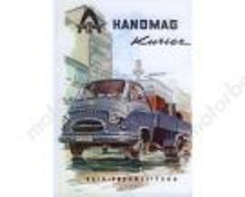 Hanomag Kurier de 1967 2.8L diesel para restauro