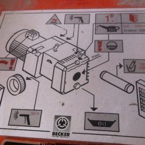 máquina alemã de projectar argamassas ou de elevar
