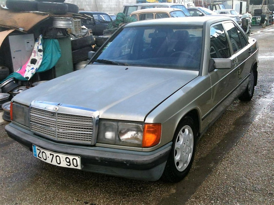 Mercedes benz 190 e 2 0 automatic 91 for Mercedes benz of southern california