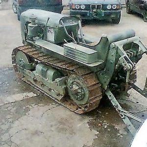 Mini tractor de rastos Lagartas dos anos 50 TOSELLI 226S