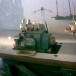 Máquina de costura corte & cose Juki MO-816