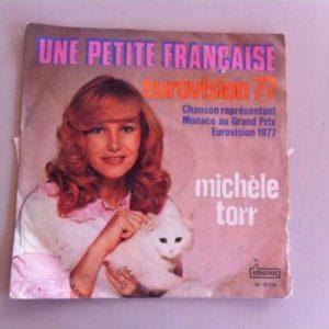 Michele Torrune petite française, disco vinil single 45 rpm