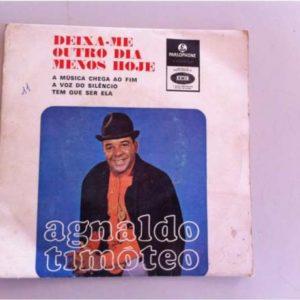 Agnaldo Timoteo deixa-me outro dia menos hoje single vinil 45 rpm