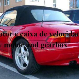 Motor e caixa de BMW Z3 de 4 cilindros