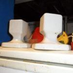 Toalheiro em Porcelana da antiga fábrica Sacavém