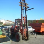 Manitou MC 15 roda alta todo terreno 2X4 capacidade 1400 Kg