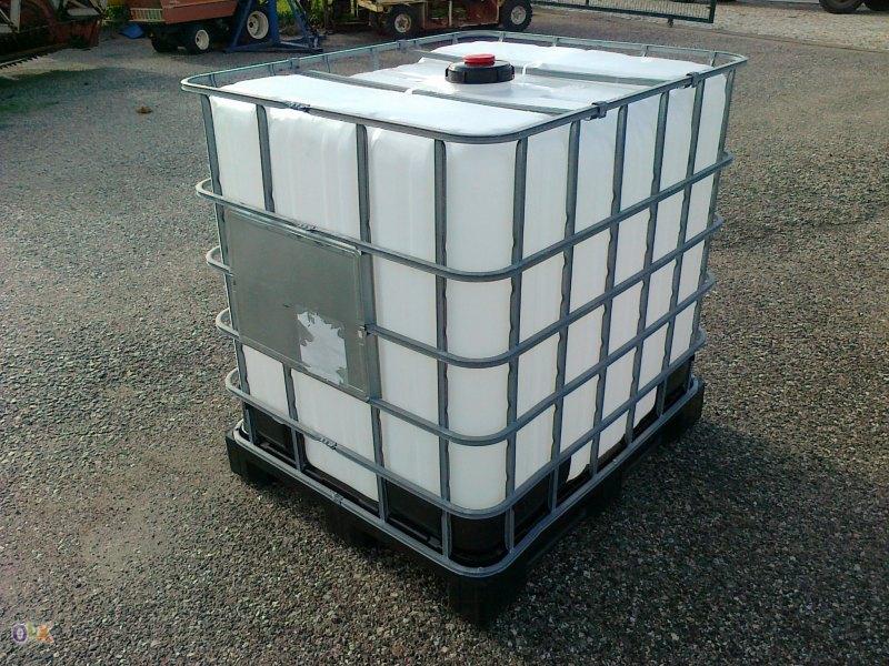 Deposito cisterna container de 1100 litros com protec o - Depositos de agua 1000 litros ...