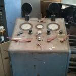 Maquina de testes hidraulicos