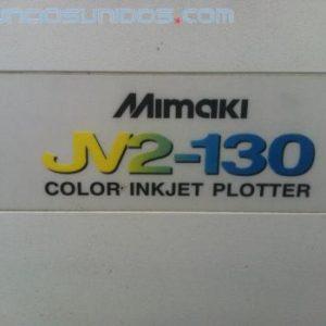 MIMAKI JV2-130 color inkjet plotter, plotter a cores