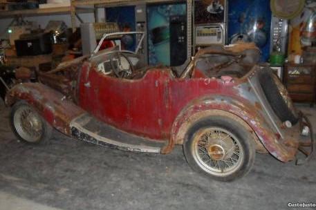 Morris M 8 de 1935 para restauro